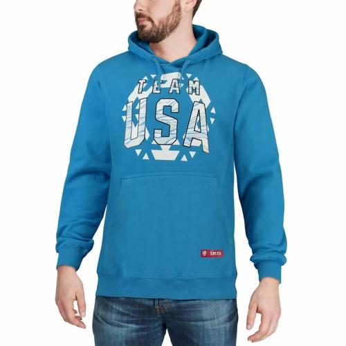 <title>ファッションブランド カジュアル ファッション 推奨 ジャケット パーカー ベスト アウタースタッフ OUTERSTUFF チーム フーディー TEAM USA SNOW FLAKE ROYAL メンズファッション トップス</title>