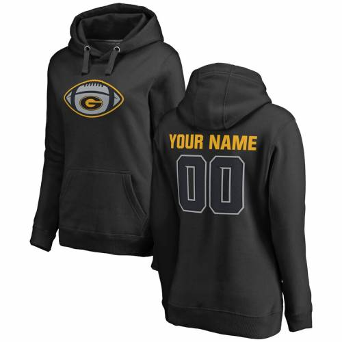FANATICS BRANDED タイガース レディース ゲーム 黒 ブラック [CUSTOMIZED ITEM] WOMEN'S 【 GAME BLACK FANATICS BRANDED GRAMBLING TIGERS BALL PERSONALIZED PULLOVER HOODIE 】 レディースファッション トップス パーカー