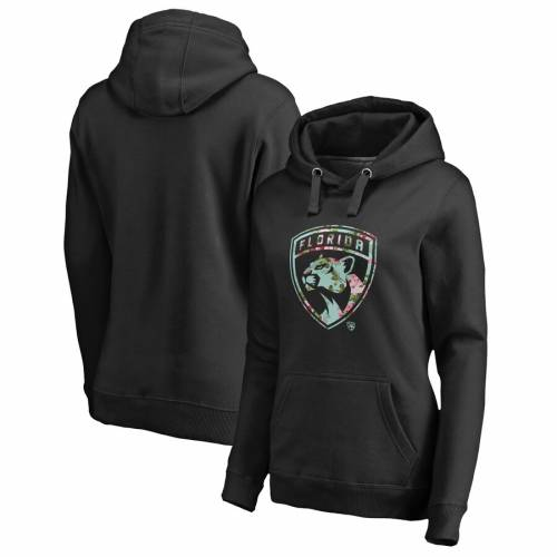 FANATICS BRANDED フロリダ パンサーズ レディース WOMEN'S 【 FLORIDA PANTHERS LOVELY PULLOVER HOODIE BLACK 】 レディースファッション トップス パーカー 送料無料
