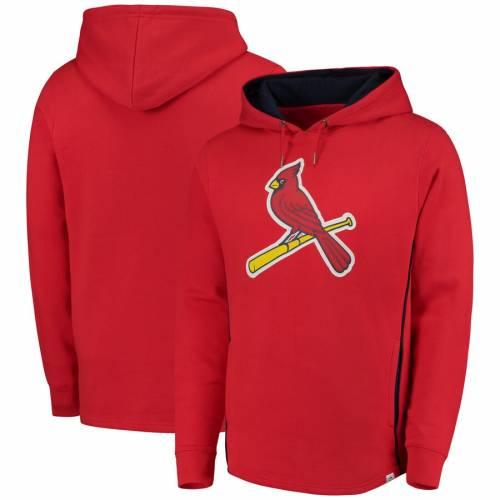 マジェスティック MAJESTIC カーディナルス 赤 レッド St. メンズファッション トップス パーカー メンズ 【 St. Louis Cardinals Lefty/righty Pullover Hoodie - Red 】 Red