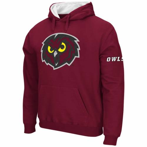 STADIUM ATHLETIC テンプル ロゴ メンズファッション トップス パーカー メンズ 【 Temple Owls Big Logo Pullover Hoodie - Cherry 】 Cherry