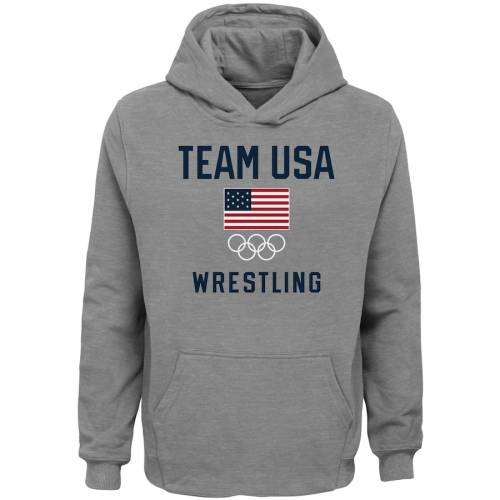 FASHION#CC Mens Pullover Hoodie Hooded with Pockets USA Flag Wrestling