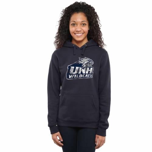 FANATICS BRANDED レディース クラシック 紺 ネイビー レディースファッション トップス パーカー 【 New Hampshire Wildcats Womens Classic Primary Pullover Hoodie - Navy 】 Navy