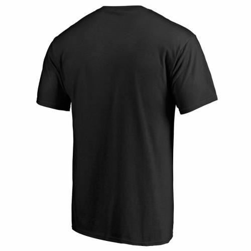 FANATICS BRANDED 青 ブルー Tシャツ 黒 ブラック & 【 BLUE BLACK FANATICS BRANDED COLUMBUS JACKETS MIDNIGHT MASCOT BIG TALL TSHIRT 】 メンズファッション トップス Tシャツ カットソー