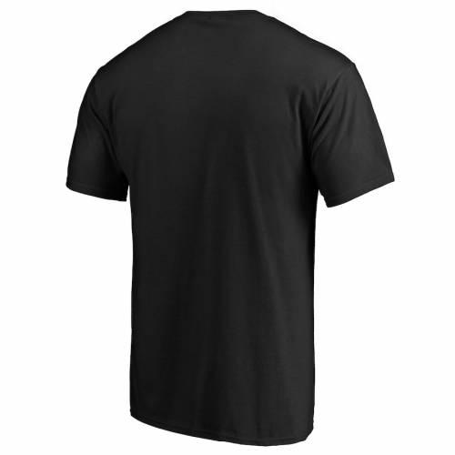 マジェスティック MAJESTIC マジェスティック フォーティーナイナーズ ロゴ Tシャツ 黒 ブラック 【 BLACK MAJESTIC SAN FRANCISCO 49ERS ICONIC HOMETOWN ARC LOGO TSHIRT 】 メンズファッション トップス Tシ