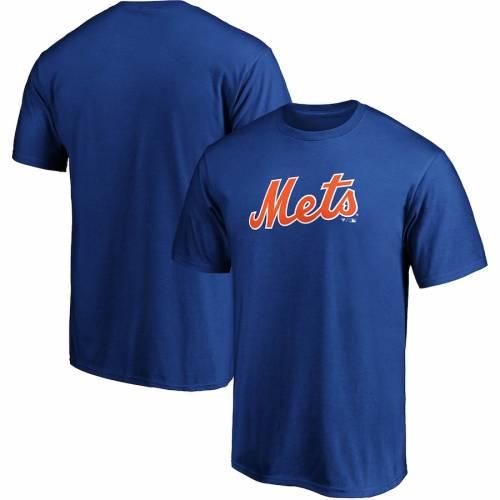 スポーツブランド カジュアル 送料無料でお届けします ファッション ファナティクス FANATICS BRANDED おしゃれ メッツ Tシャツ TSHIRT ニューヨーク カットソー OFFICIAL トップス メンズファッション ROYAL WORDMARK