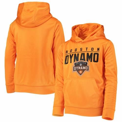OUTERSTUFF ヒューストン 子供用 橙 オレンジ キッズ ベビー マタニティ ジュニア 【 Houston Dynamo Youth Pacesetter Pullover Hoodie - Orange 】 Orange