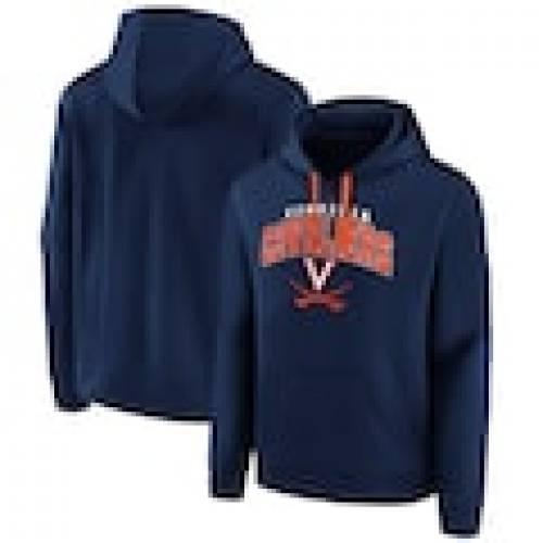<title>スポーツブランド カジュアル ファッション ジャケット パーカー ベスト ファナティクス FANATICS BRANDED バージニア キャバリアーズ フーディー 紺色 ネイビー STEADY ランキングTOP5 ARCH NAVY メンズファッション トップス</title>