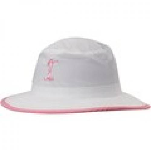 ファッションブランド カジュアル ファッション キャップ ハット インペリアル 人気商品 IMPERIAL クリアランスsale!期間限定! レディース 白色 ホワイト ピンク HAMPTON バッグ WHITE レディースキャップ SUN PINK LPGA バケットハット 帽子 WOMEN'S