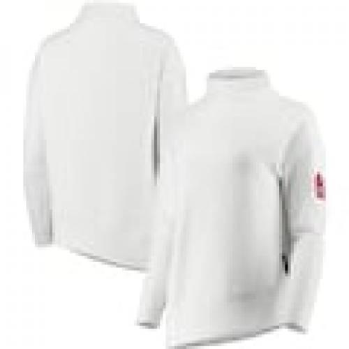 予約販売 レベルウェア LEVELWEAR カーディナルス レディース WOMEN'S スウェットシャツ レディース トレーナー 白色 ホワイト 白色 セントルイス カージナルス WOMEN'S【 LEVELWEAR LANA MOCK NECK PULLOVER SWEATSHIRT WHITE】 レディース, 京都きもの市場:778c7a50 --- zhungdratshang.org
