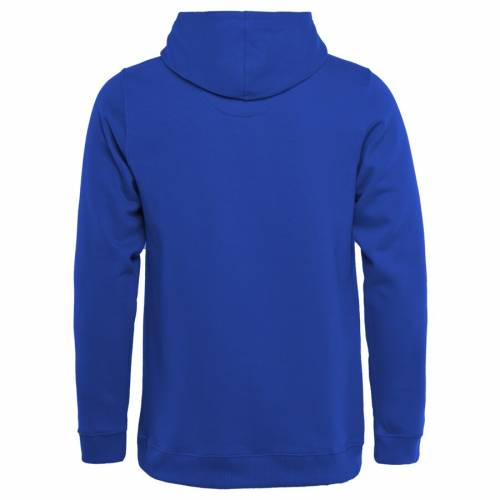 NFL PRO LINE BY FANATICS BRANDED ラムズ 子供用 コレクション コイン キッズ ベビー マタニティ トップス ジュニア 【 Los Angeles Rams Youth Throwback Collection Coin Toss Pullover Hoodie - Royal 】 Royal