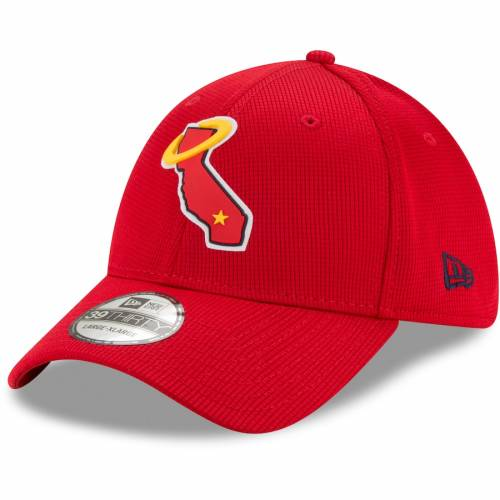 ファッションブランド 新色追加 カジュアル ファッション キャップ ハット ニューエラ NEW ERA エラ エンゼルス 赤 新色追加して再販 RED CLUBHOUSE FLEX 帽子 ロサンゼルス メンズキャップ バッグ HAT レッド 39THIRTY 2021