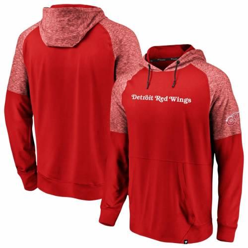 お得セット FANATICS HOODIE BRANDED デトロイト 赤 レッド レッド フーディー パーカー【 FANATICS RED FANATICS BRANDED DETROIT WINGS MADE TO MOVE PULLOVER HOODIE HEATHERED】 メンズファッション トップス パーカー, drawers(ドロワーズ):0b541856 --- kanvasma.com