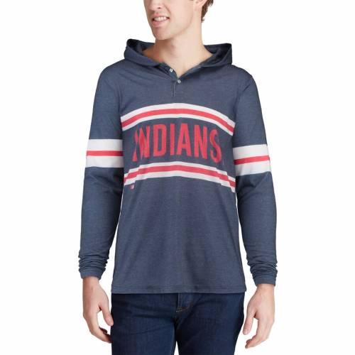 <title>ファッションブランド カジュアル ファッション ジャケット パーカー ベスト FOCO クリーブランド インディアンス ヘンリー フーディー 紺色 ネイビー HENLEY HEATHERED NAVY メンズファッション 期間限定の激安セール トップス</title>