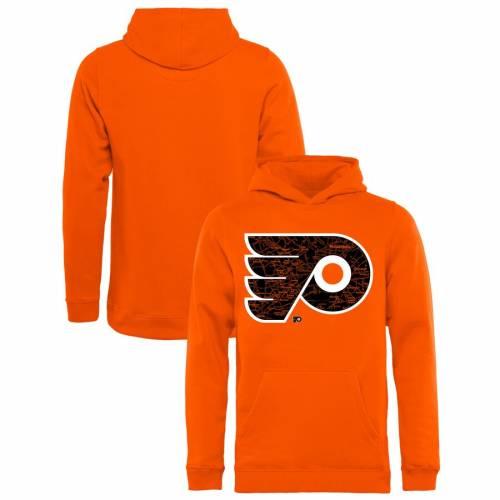 FANATICS BRANDED フィラデルフィア 子供用 コレクション 橙 オレンジ キッズ ベビー マタニティ トップス ジュニア 【 Philadelphia Flyers Youth Hometown Collection Pullover Hoodie - Orange 】 Orange