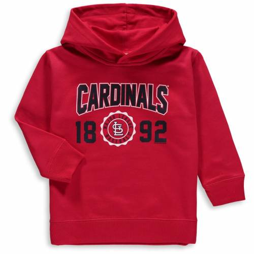 SOFT AS A GRAPE カーディナルス ベビー 赤ちゃん用 フリース 赤 レッド St. キッズ マタニティ トップス ジュニア 【 St. Louis Cardinals Toddler Fleece Pullover Hoodie - Red 】 Red
