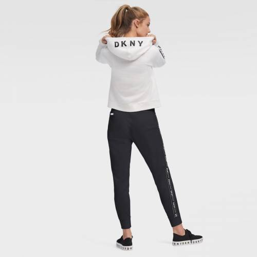 評判 スポーツブランド カジュアル ファッション ジャケット パーカー ベスト ダナキャランニューヨーク スポーツ DKNY SPORT ピッツバーグ 海賊団 トレンド ZOEY ホワイト WOMEN'S THE WHITE HOODIE レディース レディースファッシ パイレーツ 白色 フーディー