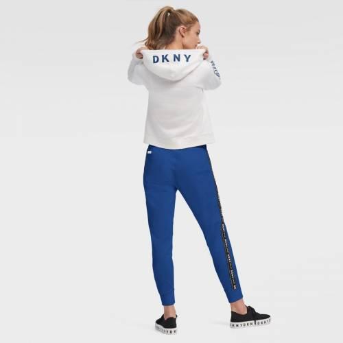 スポーツブランド 新作 カジュアル 上質 ファッション ジャケット パーカー ベスト ダナキャランニューヨーク スポーツ DKNY SPORT メッツ レディース ニューヨーク 白色 トップ ホワイト ZOEY HOODIE レディースファッション WHITE フーディー THE WOMEN'S