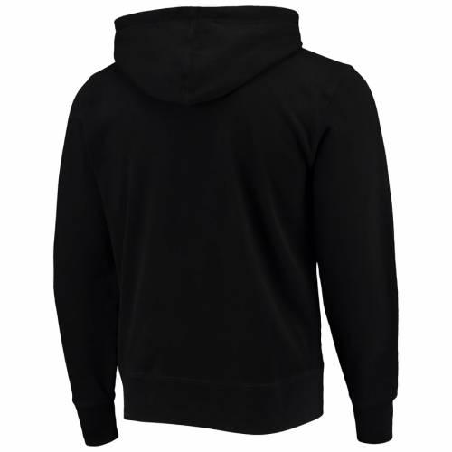'47 デトロイト 赤 レッド 黒 ブラック メンズファッション トップス パーカー メンズ 【 Detroit Red Wings Franconia Crosby Pullover Hoodie - Black 】 Black
