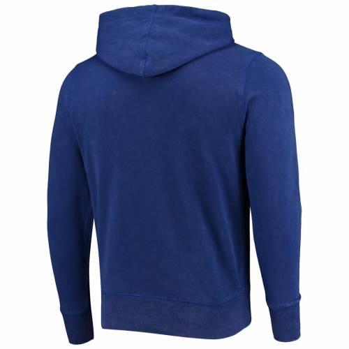'47 青 ブルー メンズファッション トップス パーカー メンズ 【 Hartford Whalers Franconia Crosby Pullover Hoodie - Blue 】 Blue