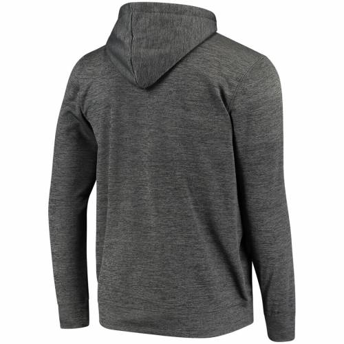 FANATICS BRANDED ロゴ 灰色 グレー グレイ メンズファッション トップス パーカー メンズ 【 Anaheim Ducks Arch Logo Pullover Hoodie - Gray 】 Gray