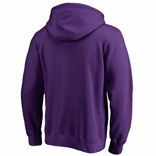 FANATICS BRANDED 紫 パープル クラシック メンズファッション トップス パーカー メンズ 【 Evansville Purple Aces Classic Primary Pullover Hoodie - Purple 】 Purple