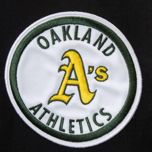 ミッチェル&ネス MITCHELL & NESS オークランド ラグラン 黒 ブラック メンズファッション トップス パーカー メンズ 【 Oakland Athletics Mitchell And Ness Anorak Raglan Half-zip Pullover Hoodie - Black 】
