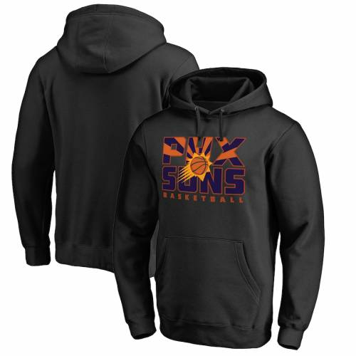 FANATICS BRANDED フェニックス サンズ コレクション 黒 ブラック メンズファッション トップス パーカー メンズ 【 Phoenix Suns Big And Tall Phx Hometown Collection Pullover Hoodie - Black 】 Black