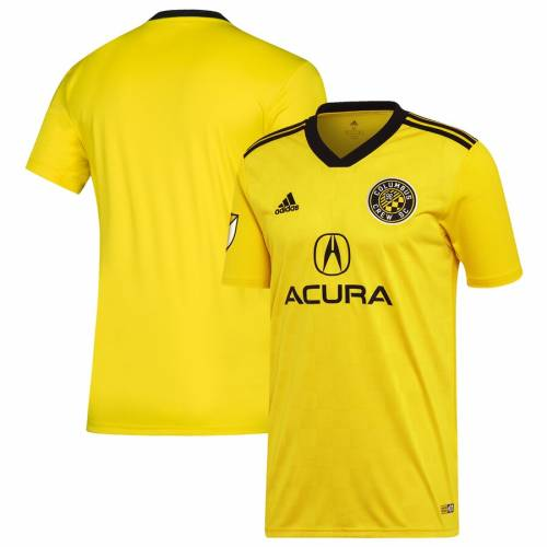 アディダス ADIDAS ジャージ 黄色 イエロー スポーツ アウトドア サッカー フットサル メンズ レプリカユニフォーム 【 Columbus Crew Sc 2019 Primary Replica Jersey - Yellow 】 Yellow