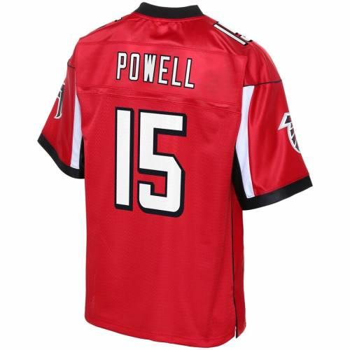 NFL PRO LINE アトランタ ファルコンズ ジャージ 赤 レッド スポーツ アウトドア アメリカンフットボール メンズ 【 Brandon Powell Atlanta Falcons Player Jersey - Red 】 Red