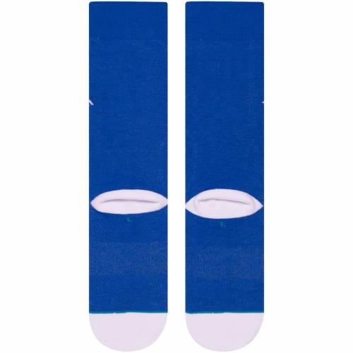 スタンス STANCE トロント 青 ブルー ジャージ ソックス 靴下 インナー 下着 ナイトウエア メンズ 下 レッグ 【 Toronto Blue Jays Alternate Jersey Socks 】 Color