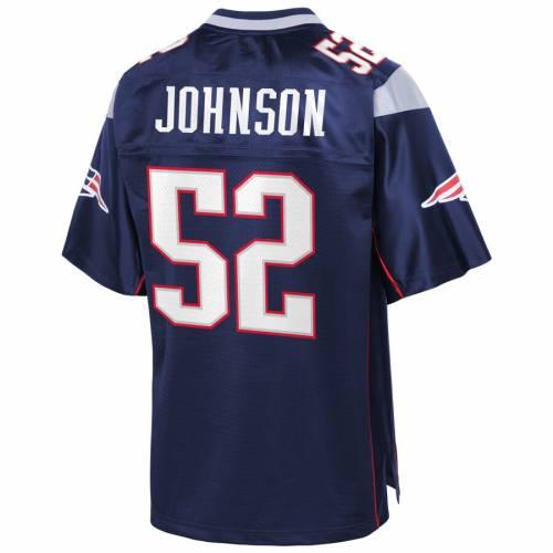 NFL PRO LINE ジョンソン ペイトリオッツ ジャージ 紺 ネイビー スポーツ アウトドア アメリカンフットボール メンズ 【 Ted Johnson New England Patriots Replica Retired Player Jersey - Navy 】 Navy