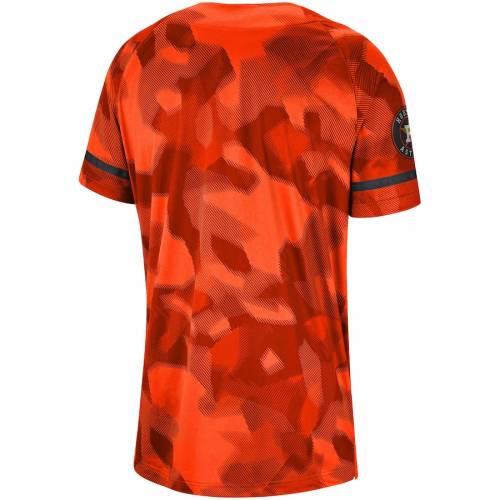 ナイキ NIKE ヒューストン アストロズ ジャージ 橙 オレンジ スポーツ アウトドア 野球 ソフトボール レプリカユニフォーム メンズ 【 Houston Astros Camo Jersey - Orange 】 Orange