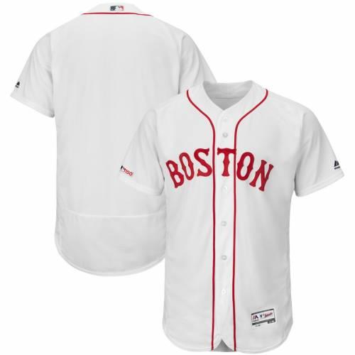マジェスティック MAJESTIC マジェスティック ボストン 赤 レッド オーセンティック コレクション チーム ジャージ 白 ホワイト 【 RED TEAM WHITE MAJESTIC BOSTON SOX HOME FLEX BASE AUTHENTIC COLLECTION JERS