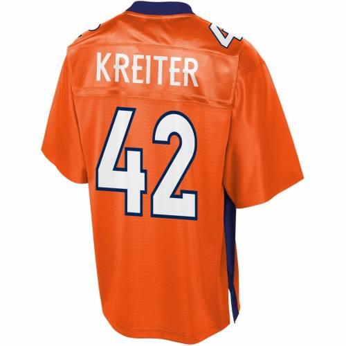NFL PRO LINE デンバー ブロンコス ジャージ 橙 オレンジ スポーツ アウトドア アメリカンフットボール メンズ 【 Casey Kreiter Denver Broncos Player Jersey - Orange 】 Orange