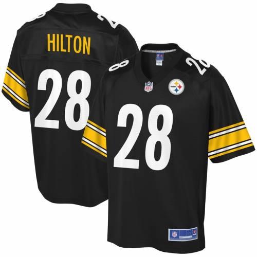 NFL PRO LINE ピッツバーグ スティーラーズ ジャージ 黒 ブラック スポーツ アウトドア アメリカンフットボール メンズ 【 Mike Hilton Pittsburgh Steelers Player Jersey - Black 】 Black
