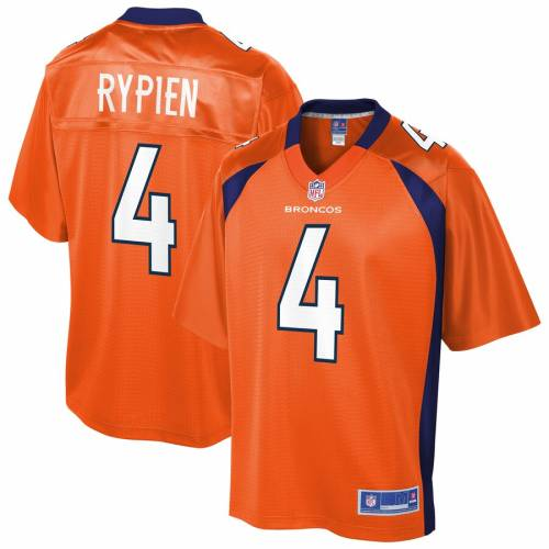 NFL PRO LINE ブレット デンバー ブロンコス チーム ジャージ 橙 オレンジ スポーツ アウトドア アメリカンフットボール メンズ 【 Brett Rypien Denver Broncos Team Player Jersey - Orange 】 Orange