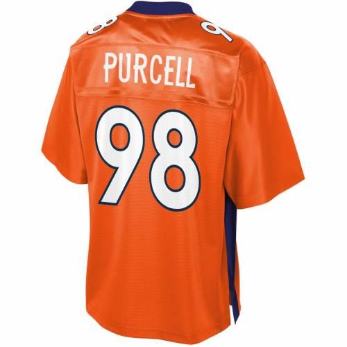 NFL PRO LINE デンバー ブロンコス チーム ジャージ 橙 オレンジ スポーツ アウトドア アメリカンフットボール メンズ 【 Mike Purcell Denver Broncos Team Player Jersey - Orange 】 Orange