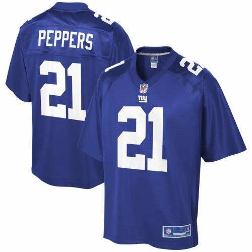 NFL PRO LINE ジャイアンツ チーム ジャージ スポーツ アウトドア アメリカンフットボール メンズ 【 Jabrill Peppers New York Giants Team Player Jersey - Royal 】 Royal