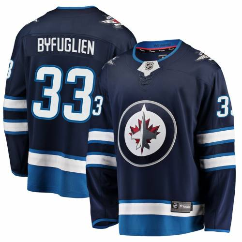 FANATICS BRANDED ジェッツ ジャージ 【 JETS DUSTIN BYFUGLIEN WINNIPEG BREAKAWAY REPLICA JERSEY NAVY 】 送料無料