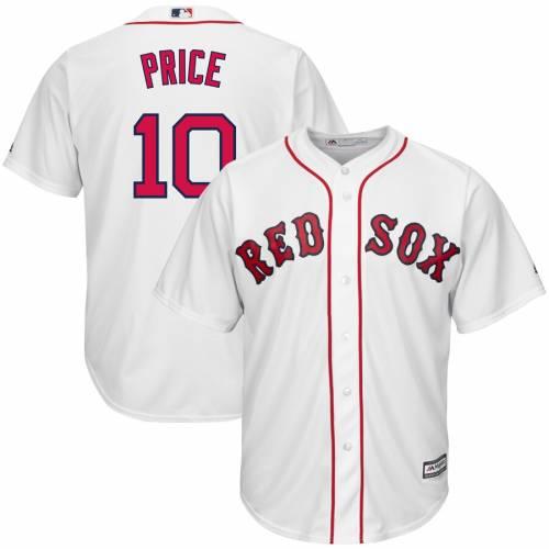 マジェスティック MAJESTIC ボストン 赤 レッド クール ジャージ 白 ホワイト スポーツ アウトドア 野球 ソフトボール レプリカユニフォーム メンズ 【 David Price Boston Red Sox Official Cool Base P