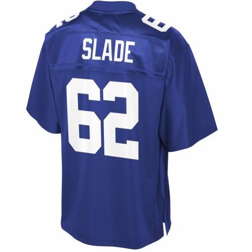 NFL PRO LINE ジャイアンツ チーム ジャージ スポーツ アウトドア アメリカンフットボール メンズ 【 Chad Slade New York Giants Team Player Jersey - Royal 】 Royal