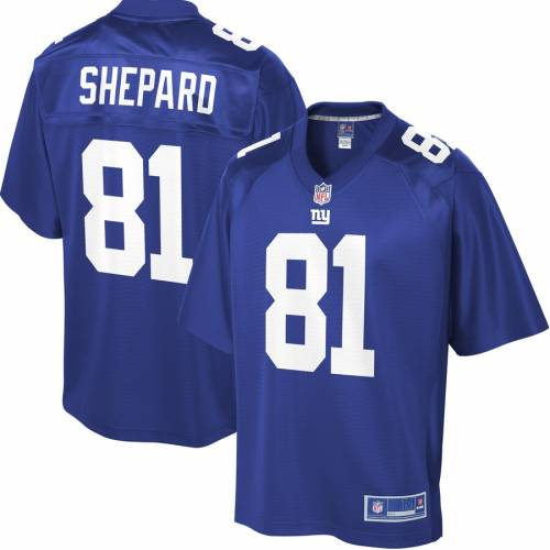 NFL PRO LINE ラッセル ジャイアンツ ジャージ スポーツ アウトドア アメリカンフットボール メンズ 【 Russell Shepard New York Giants Player Jersey - Royal 】 Royal