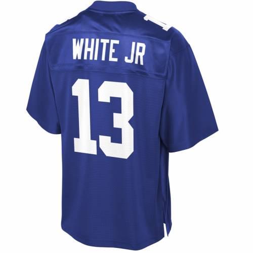 NFL PRO LINE 白 ホワイト ジャイアンツ チーム ジャージ スポーツ アウトドア アメリカンフットボール メンズ 【 Reggie White Jr New York Giants Team Player Jersey - Royal 】 Royal