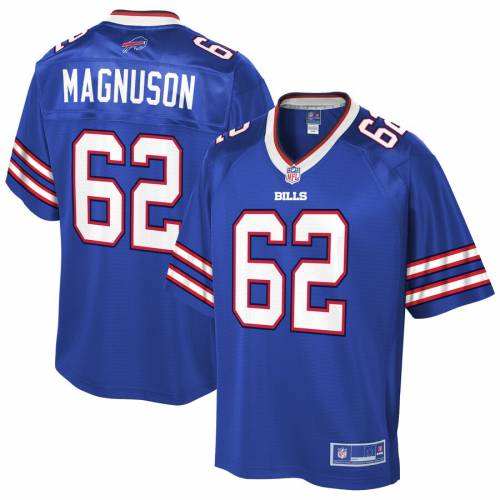 NFL PRO LINE バッファロー ビルズ ジャージ スポーツ アウトドア アメリカンフットボール メンズ 【 Erik Magnuson Buffalo Bills Player Jersey - Royal 】 Royal