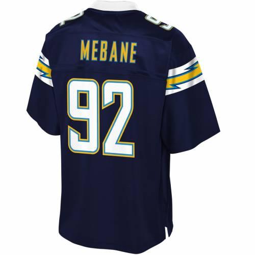 NFL PRO LINE チャージャーズ チーム ジャージ 紺 ネイビー スポーツ アウトドア アメリカンフットボール メンズ 【 Brandon Mebane Los Angeles Chargers Team Color Player Jersey - Navy 】 Navy
