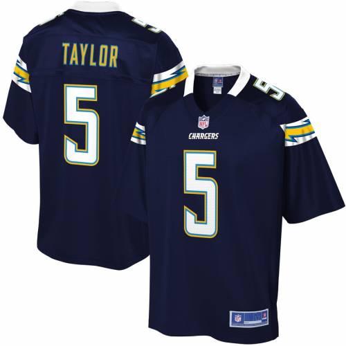 NFL PRO LINE チャージャーズ ジャージ 紺 ネイビー スポーツ アウトドア アメリカンフットボール メンズ 【 Tyrod Taylor Los Angeles Chargers Primary Player Jersey - Navy 】 Navy