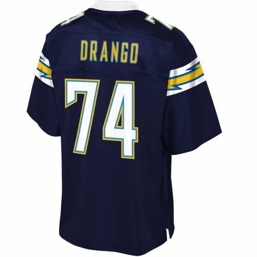 NFL PRO LINE チャージャーズ チーム ジャージ 紺 ネイビー スポーツ アウトドア アメリカンフットボール メンズ 【 Spencer Drango Los Angeles Chargers Team Player Jersey - Navy 】 Navy