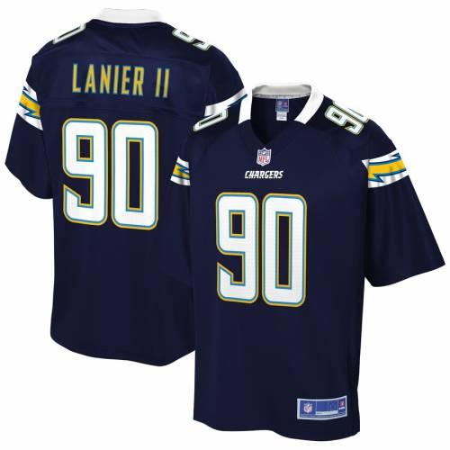 NFL PRO LINE アンソニー チャージャーズ チーム ジャージ 紺 ネイビー スポーツ アウトドア アメリカンフットボール メンズ 【 Anthony Lanier Ii Los Angeles Chargers Team Player Jersey - Navy 】 Navy
