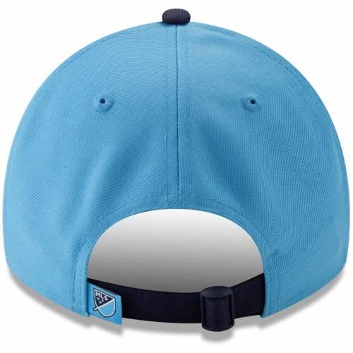 ニューエラ NEW ERA シティ ジャージ スカイ 青 ブルー バッグ キャップ 帽子 メンズキャップ メンズ 【 New York City Fc Jersey Hook 9twenty Adjustable Hat - Sky Blue 】 Sky Blue